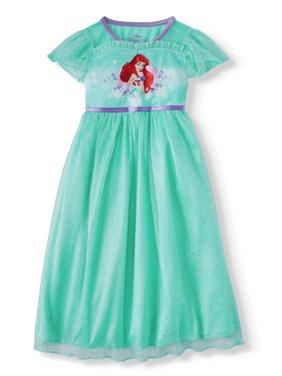 The Little Mermaid Short Sleeve Fantasy Nightgown (Toddler Girls)