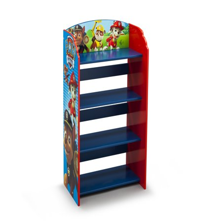 Delta Wood Machines - Nick Jr. PAW Patrol Wood Bookshelf by Delta Children