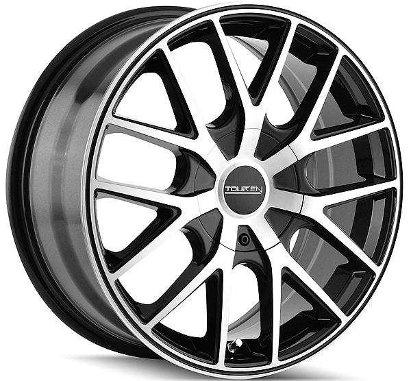 16 rims 2007 Chevrolet Malibu White 16 inch touren tr60 16x7 5x100 5x114 3 42mm black machined