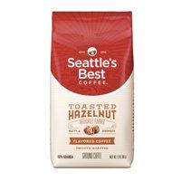 Seattle's Best Coffee Toasted Hazelnut Flavored Medium Roast Ground Coffee, 12-Ounce Bag