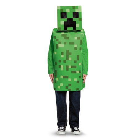 Minecraft Creeper Classic Child Costume - Minecraft Diamond Armor Halloween Costume