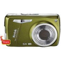 "Kodak Easyshare M575 Green 14MP Digital Camera w/ 5X Optical Zoom, 3.0"" LCD"