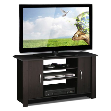 Furinno Econ Espresso TV Stand Entertainment Center for TVs up to 42\ 42
