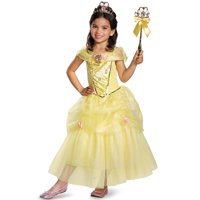 Disney Belle Deluxe Sparkle Toddler Halloween Costume, Size 3T-4T