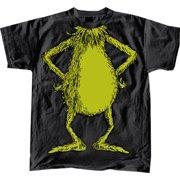 Dr Seuss No Head Grinch Body Costume Black Adult T Shirt