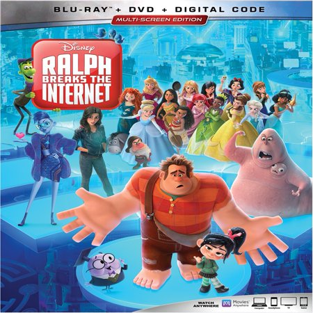 Ralph Breaks the Internet (Blu-ray + DVD + - Halloween 2 Remake Blu Ray