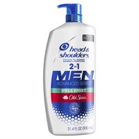 Head and Shoulders Old Spice Pure Sport Dandruff 2 in 1 Shampoo and Conditioner, 31.4 fl oz