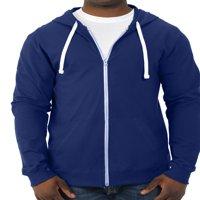 Fruit of the Loom Men's 100% Sofspun Cotton Jersey Full Zip Hood