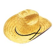 9c4e63e5725 Straw Cowboy Hat Adult Halloween Accessory