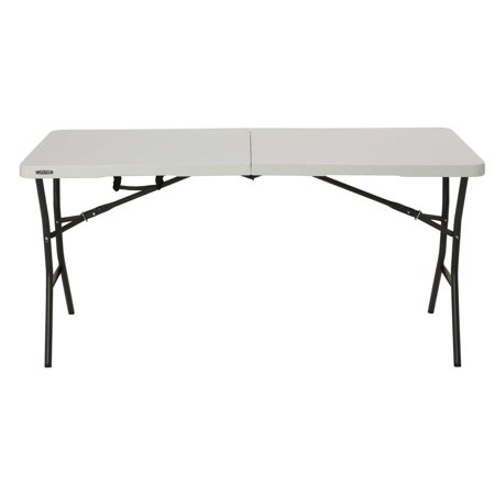 Lifetime 5' Essential Fold-in-Half Table, Pearl, 280513
