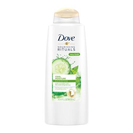 Dove Nourishing Rituals Cool Moisture Shampoo, 20.4 (Nourishing Shampoo)