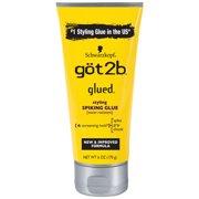 Got2b Glued Styling Spiking Hair Glue, 6 Ounce