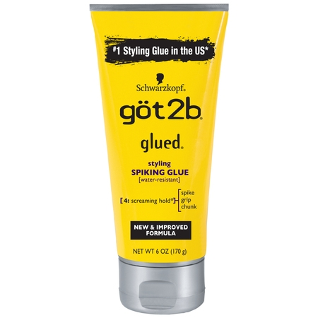 Got2b Glued Styling Spiking Hair Glue, 6 Ounce
