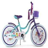 "Micargi Ellie 20"" Girls Cruiser Bike Baby Blue/Purple"