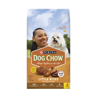 Purina Dog Chow Small Breed Dry Dog Food; Little Bites With Real Chicken & Beef - 4 lb. Bag