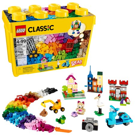 LEGO Classic Large Creative Brick Box 10698 Building Toy (790 pcs)](Building Toys For 7 Year Olds)