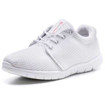 Alpine Swiss Kilian Mesh Sneakers Casual Shoes Mens & Womens Lightweight Trainer (Men Jordan Shoes Size 6)