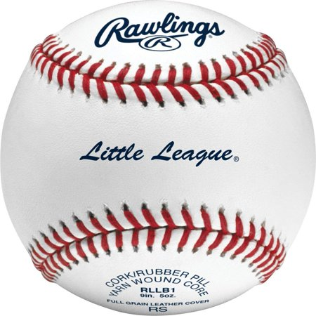 Rawlings RLLB1 Little League Competition Grade Baseballs 12 Pack