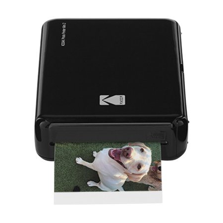 Kodak Mini 2 HD Wireless Mobile Instant Photo Printer w/4PASS Patented Printing Technology (Black) – Compatible w/iOS & Android Devices...