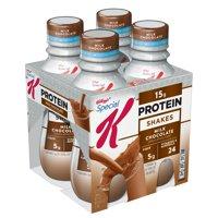 Kellogg's Special K Protein Shake, Milk Chocolate, 15g Protein, 4 Ct