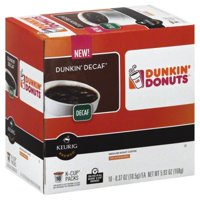 Dunkin' Donuts Decaf K-Cup Pods for Keurig K-Cup Brewers, Medium Roast Coffee, 16-Count