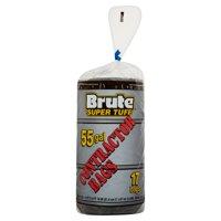 Brute Super Tuff Contractor Bags, 55 Gallon, 17 Ct