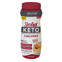 SlimFast Keto Ketogenic Creamer, 6.6oz., 15 servings