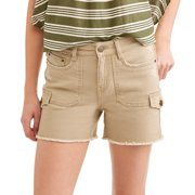 Time and True Women's Cargo Shorts