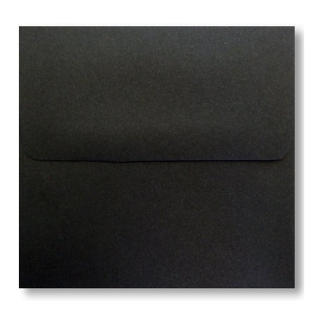 Shipped Free - 25 Jet Black A6 (4-3/4 X 6-1/2) Envelopes Square Flap for Greeting Cards Invitation Photos Birth Announcement Shower Christening Halloween Thank Wedding Craft From Envelopegallery](Halloween Expecting Announcements)