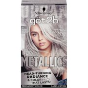 Best Grey Hair Dyes - Got2b Metallic Permanent Hair Color, M71 Metallic Silver Review