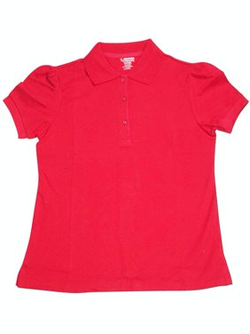 French Toast GirlS Plus Size Short Sleeve Stretch Pique Polo School Uniform Polo A9403 Plus sizes - 30 day Guarantee - FREE SHIPPING