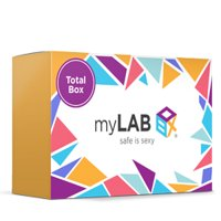 MyLab Box Total Box - 13 Panel At Home STD Test + Mail-in Kit without HPV for WOMEN