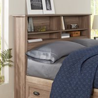 Better Homes & Gardens Lafayette Bookcase Headboard, Multiple Finishes & Sizes
