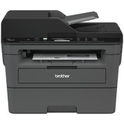 Brother Compact Monochrome Laser Multi-Function Copier and Printer, DCPL2550DW, Wireless Printing, Duplex Printing