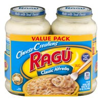(3 Pack) Ragú Cheese Creations Classic Alfredo Sauce 16 oz. each (Pack of 2)