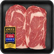 Beef Choice Angus Ribeye Steak Thin Cut 0.43-1.15 lb