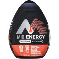 (12 Pack) MiO Energy Tropical Fusion Liquid Water Enhancer, 12 - 1.62 fl oz Bottles