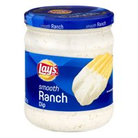 (2 Pack) Lay's Smooth Ranch Dip 15 oz. Jar