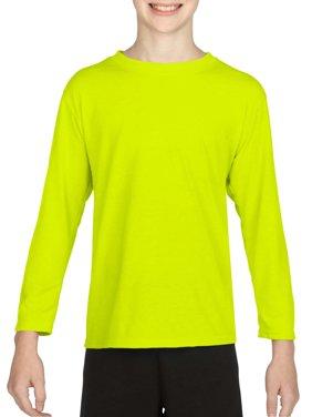 Gildan AquaFX Performance Kids Long Sleeve T-Shirt