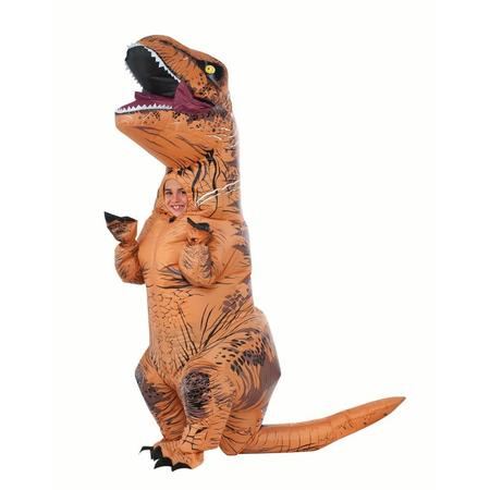 Rubies Inflatable T-REX Child Halloween Costume](Quick Simple Last-minute Halloween Costumes)