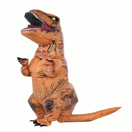 Rubies Inflatable T-REX Child Halloween - Homemade Barbie In A Box Halloween Costume