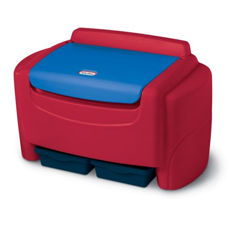 Childrens Toy Box - Little Tikes Sort 'n Store Toy Chest- Primary Colors