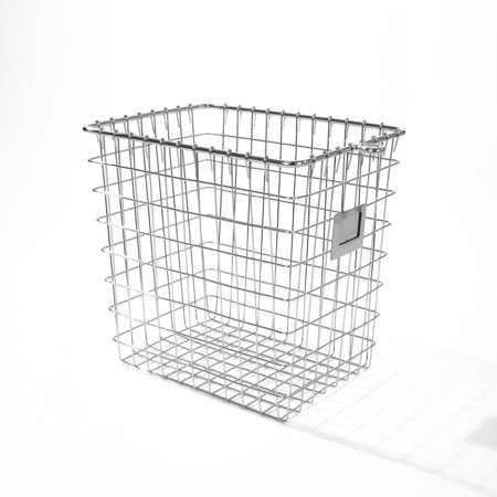 Spectrum Diversified Small Storage Basket, Chrome, - Cornucopia Baskets