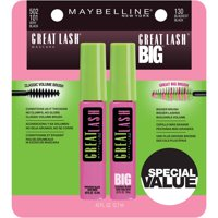 Maybelline Great Lash & Great Lash Big Mascara Set, 2 Pc