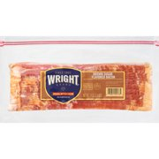 Wright Brand® Thick Sliced Brown Sugar Flavored Bacon, 1.5 lb.