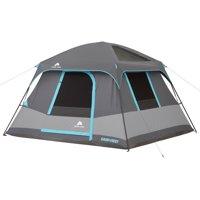 Ozark Trail 10' x 9' Dark Rest Cabin Tent, Sleeps 6