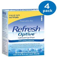 Refresh Optive Lubricant Eye Drops 60-0.01 fl. oz. Tubes