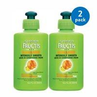 (2 Pack) Garnier Fructis Sleek & Shine Intensely Smooth Leave-In Conditioning Cream 10.2 FL OZ