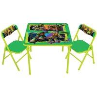 Nickelodeon Teenage Mutant Ninja Turtles Maxin & Shellaxin Erasable Activity Table Set