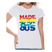 Awkward Styles Made In The 80s Shirt Rainbow T Birthday